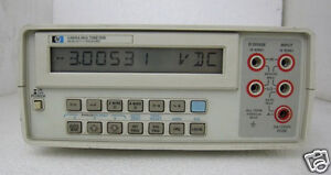 Agilent hp 3468a 5 1 2 Digit Digital Multimeter