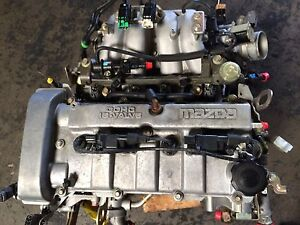 01 03 Protege 2 0l Exc Maz speed Engine Vin 5 6 Engine automatic T m