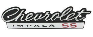 New Trim Parts Grille Emblem Badge For 1966 Chevy Impala Ss 2500