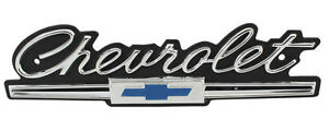 New Trim Parts Standard Grille Emblem For 1966 Chevy Impala 2505