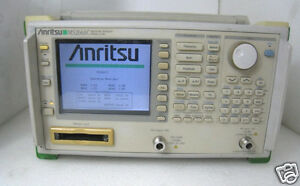 Anritsu Ms 2661c Spectrum Analyzer 9khz 3 Ghz Ms2661c