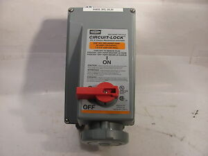 Hubbell Hbl460mi12wr 4 Pin Outlet 60 Amp 120 240 Volt Ac Circuit lock
