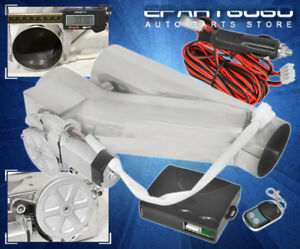 For Toyota 3 Jdm Vip Y Pipe Exhaust Catback Header Electric Cutout Controller