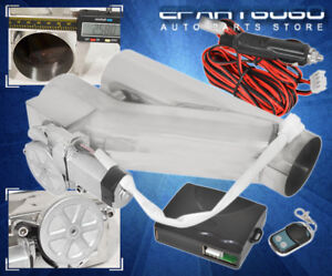 For Acura 2 5 Jdm Vip Y Pipe Exhaust Catback Header Electric Cutout Controller