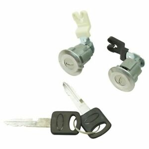Door Lock Cylinder Keys Set Of 2 For Ford Mercury Mazda Truck Suv