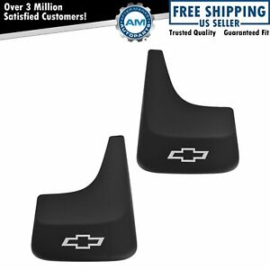 Gm Mud Flap Splash Guard Front Or Rear Pair Set Of 2 For Chevy Pickup Truck Suv
