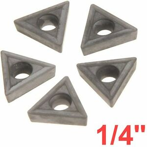 1 4 C6 Carbide Insert For Indexable Lathe Toolholder Triangle