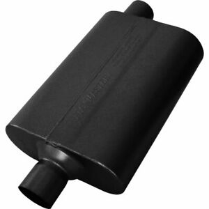 Flowmaster Muffler Delta Flow 50 Series 2 1 4 Inlet 2 1 4 Outlet Stainless