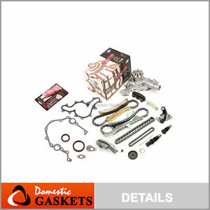 97 09 Ford Mercury 4 0 Sohc Timing Chain Gmb Water Pump Kit cover Gasket no Gear