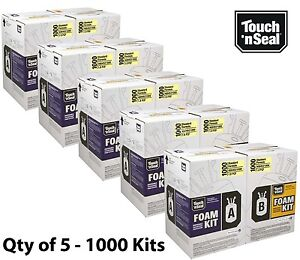 Touch N Seal 1000 Kit Open Cell Spray Foam Insulation Kit Fr 1000 Bf Qty Of 5