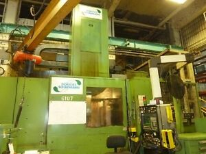 49 63 Dorries scharmann vce1600 1255 Cnc Vertical Boring Mill 27138