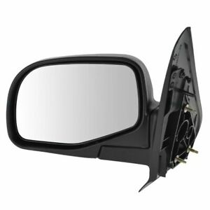 Mirror Manual Lh Left Driver Side For Ford 01 05 Explorer Sport Trac