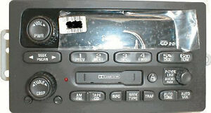 Trailblazer Envoy Oem Cd Cassette Radio Factory Original Remanufactured Stereo