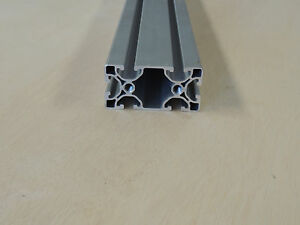 80 20 Extruded Aluminum Ultra Lite Profile 40mm X 80mm X 2100mm 82 68 Long
