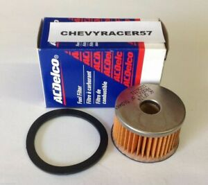 Ac Delco Gf124 Glass Gas Fuel Filter Replacement Element Insert