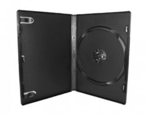 200 Premium Standard Black Single Dvd Cases 14mm 100 New Material