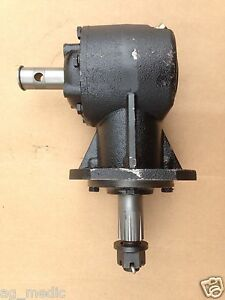 Fred Cain Ac Series Rotary Cutter Gearbox Code Ac r45