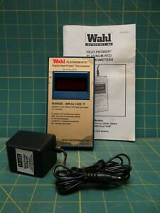 Wahl 392m Platinum Rtd Digital Heat prober Thermometer 290 To 1450 Degrees F