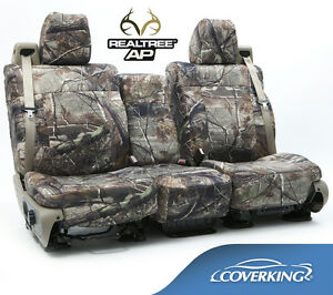 New Full Printed Realtree Ap Camo Camouflage Seat Covers 5102033 12
