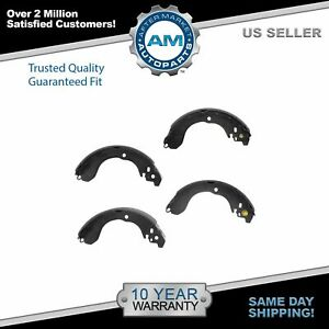 Nakamoto Brake Shoes Rear Set For Chrysler Dodge Jeep Nissan