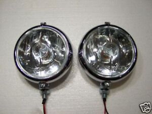 Marchal 672 682 Driving Lights new 5 3 4 clear 12 Volt