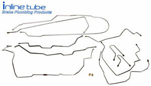 1995 99 Suburban Brake Line Set Kit Tube Lines Chevy Gmc Suv 1 2 Ton 4wd Ss