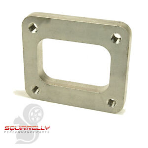 Squirrelly T4 Stainless Steel Non Divided Turbo Inlet Flange Exhaust Manifold