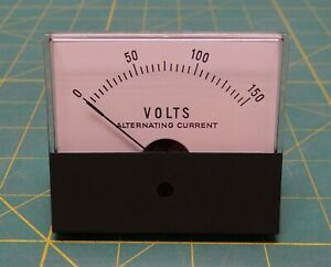 Jewell Instruments Ms2t Panel Mount Voltmeter 0 150 V Ac 3 X 2 75