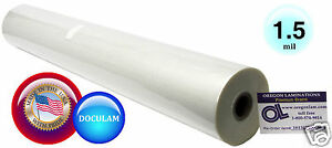 Doculam Hot Laminating Film 25 X 500 On 1 Core 1 5 Mil American 1 Roll