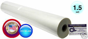 Doculam Hot Laminating Film 27 X 500 On 1 Core 1 5 Mil American 1 Roll