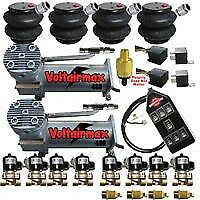 Voltairmaxxx 480c Compressors 1 2 Valves Air Ride 2600 Bags 14switch Controller