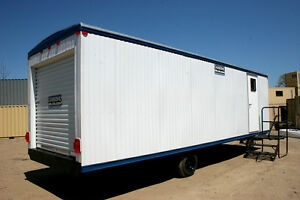 8 X 32 Mobile Office storage Trailer Model Da832 new
