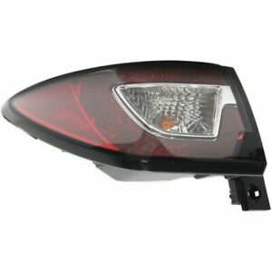 Tail Light For 2013 2017 Chevrolet Traverse Left Halogen With Bulb