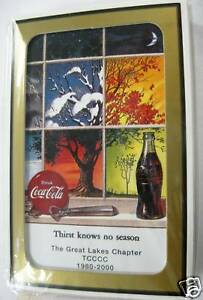 Coca Cola Playing Cards - 2000 Michigan Show - Sealed