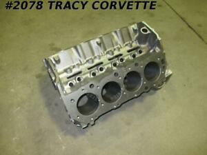 1965 Corvette 396 Bare Block Dated E 28 5 Gm 3855962 4 Bolt Bb Standard Engine
