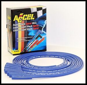 Accel 5000 Series Plug Wires Str Boot Hei Or Point Dist 5040 B Clearance