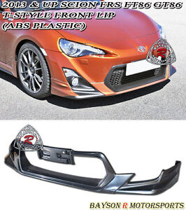 T style Front Lip abs Fits 12 16 Scion Fr s