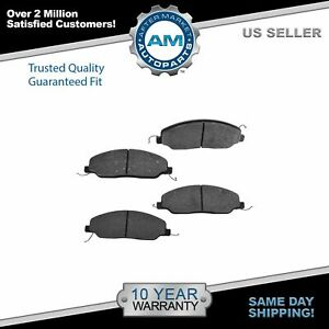 Nakamoto Front Posi Metallic Disc Brake Pads For Ford Mustang New