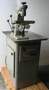 Hardinge Bb 2v Vertical Mill Jewelry Watchmaker Milling Machine With Collets