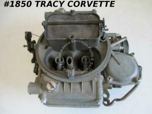 Holley 600 Cfm Carburetor Chevy Ford List 6619 1 Dated 2214 4 Bbl Needs Repair