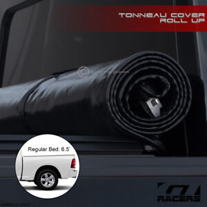 Lock Roll Soft Tonneau Cover For 2002 2008 2009 Ram 6 5 Ft 78 Short Bed Cab