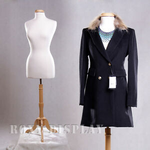 Female Size 10 12 Mannequin Dress Form Display f10 12w bs 01nx Cap m42nrx