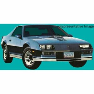 Decal Graphics Restoration Black Silver 12 Piece Kit For 82 84 Chevy Camaro