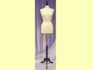 Female Size 6 8 Mannequin Manikin Dress Form f6 8w bs 02bkx