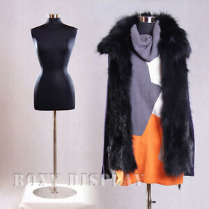 Free Shipping Female Jersey From Mannequin Dress Form Hard Form f6 8bk bs 04