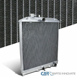 Fit Honda 92 95 Civic 93 97 Del Sol Si Manual Mt Racing Aluminum 2 Row Radiator