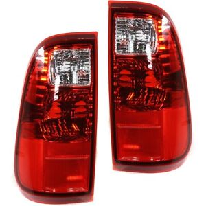 Set Of 2 Tail Light For 2008 2016 Ford F 250 Super Duty Xl Lh Rh