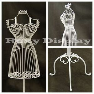 Female Metal Wire Form With Antique Metal Base ty xy140075w