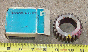 Nos Transmission Synchronizing Gear 1964 66 Chevy Trucks 4 speed New Process