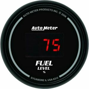 Autometer Fuel Gauge Gas New 6310